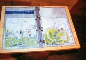 Das Nationalparkbuch mit vielen Abbildungen