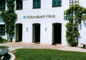 Das Nationalparkhaus, Eingangsbereich